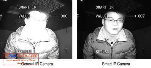 280 Smart IR-راه حل سفید شدن تصویر دوربین مداربسته در شب-نصب دوربین مداربسته در کرج