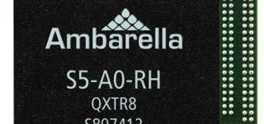 cpu سامسونگ IP Ambarella S5 SoC دارای ساختار پردازنده 10 بیتی است که ویدئو با کیفیت تصویر 4k ارائه میدهد.
