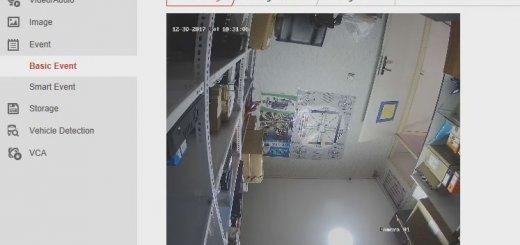 video tampering web interface 520x245-تنظیم هشدار سرقت و آسیب به دوربین مداربسته هایک ویژن-نصب دوربین مداربسته در کرج